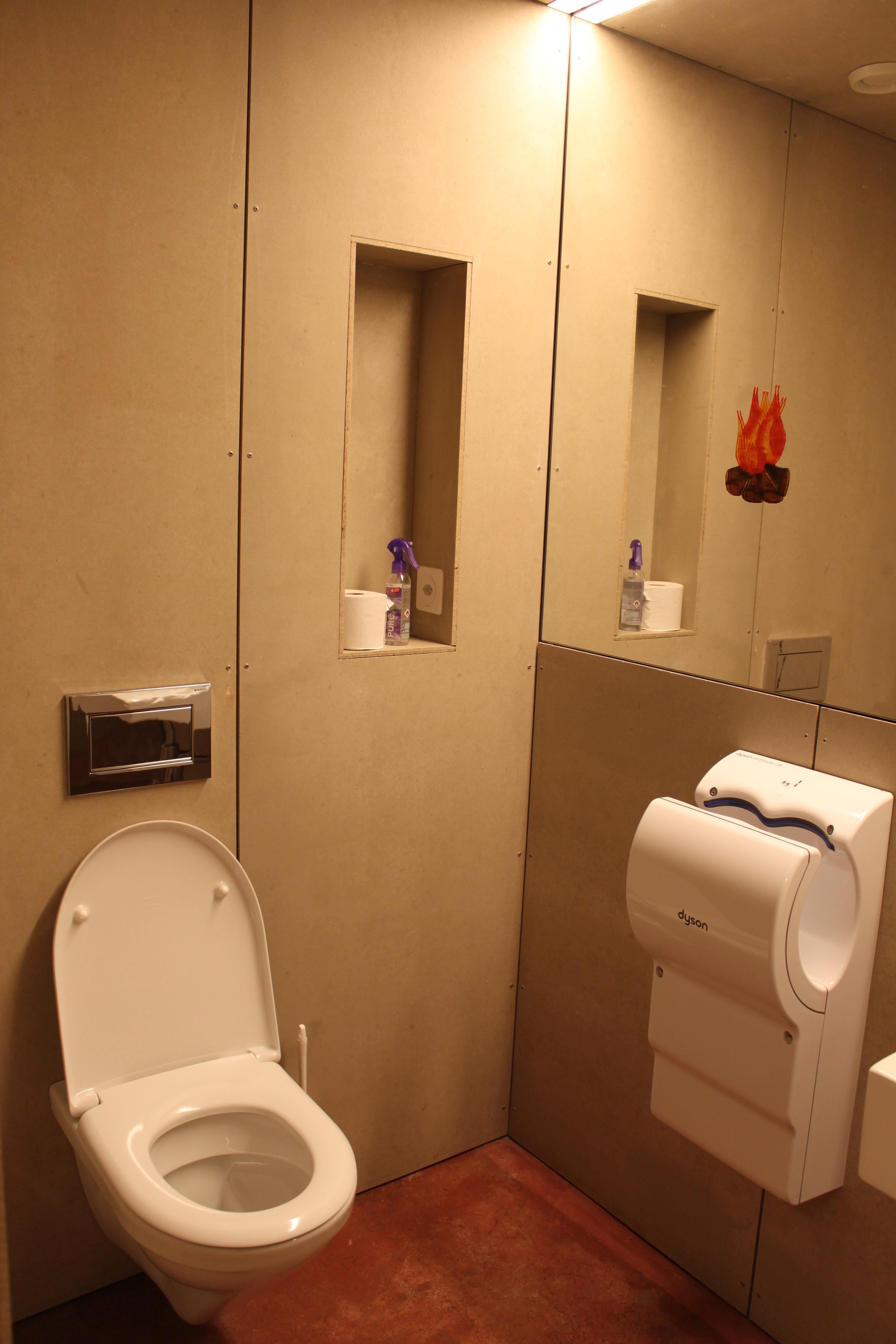 Toilette Pfadi